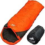 archi 寝袋 シュラフ 封筒型 コンパクト収納 丸洗い 抗菌仕様 最低使用温度0℃ 1300