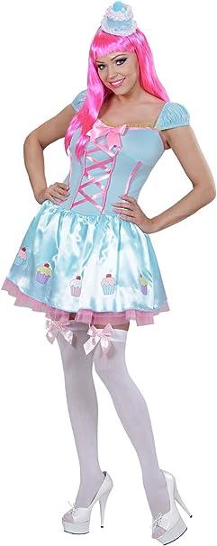 Candy Girl para mujer Disfraz Cupcake color azul claro color rosa ...