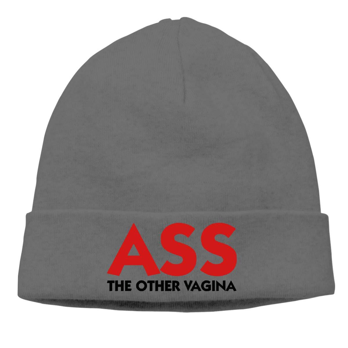 Ass-The Other Vagina Men Women Warm /& Stylish Ski Slouchy Hat