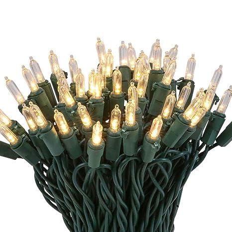 Image Unavailable - Amazon.com : LED Mini Christmas Tree Light 100 Count Bulbs With 52