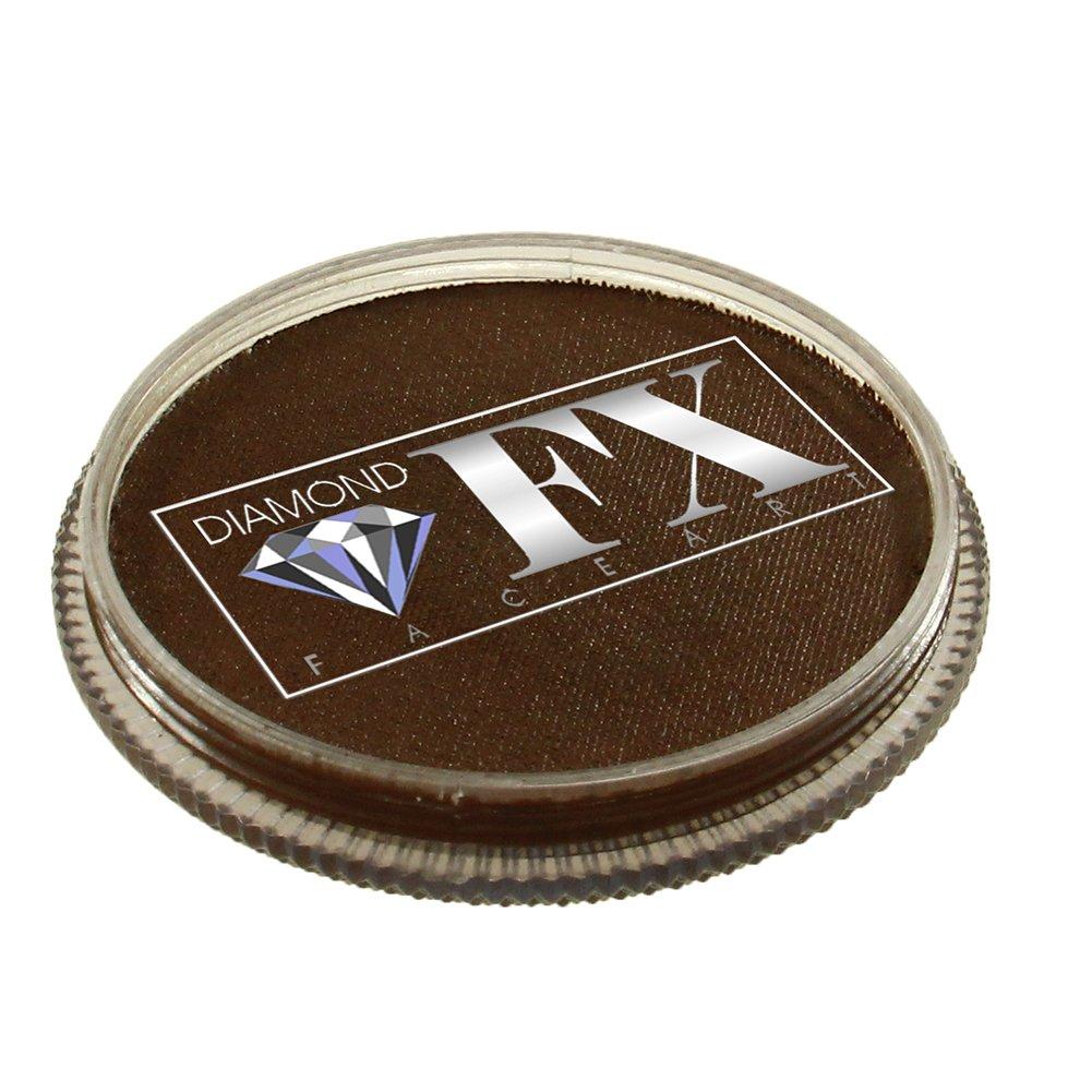 30 gm Diamond FX Essential Face Paint - Light Brown 1018