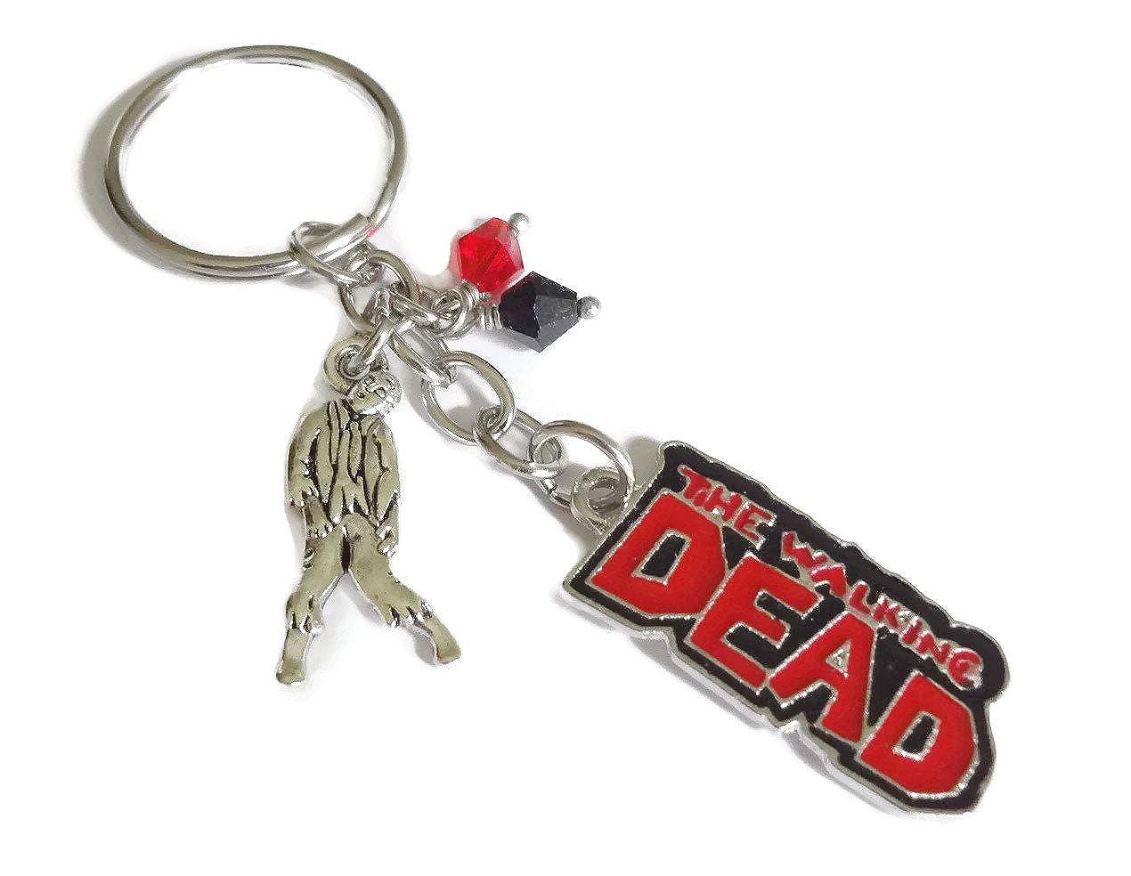The Walking Dead Zombie Keychain - Halloween, Horror Keyring