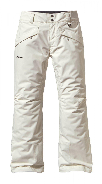 Patagonia W Insulated Snowbelle Pants - Raw Linen - XS - Wasserdichte isolierte Damen Thermogreen Ski- und Snowboardhose