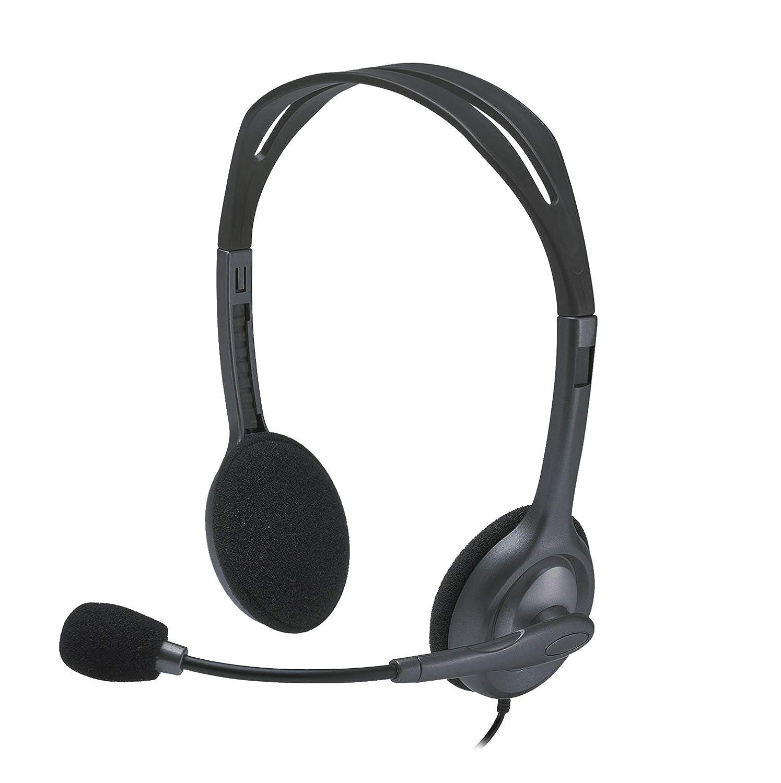 Logitech H111 Cuffia Stereo, Nero