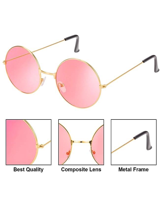 Amazon.com: Blulu 18 pares de gafas de sol hippie estilo de ...