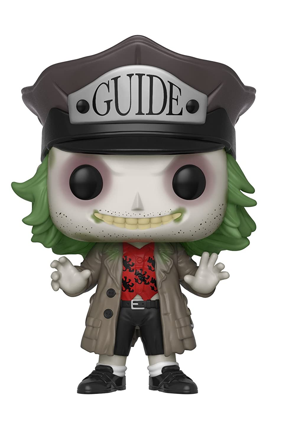 Funko Pop Horror: Beetlejuice - Beetlejuice with Hat Collectible Figure, Multicolor 32319