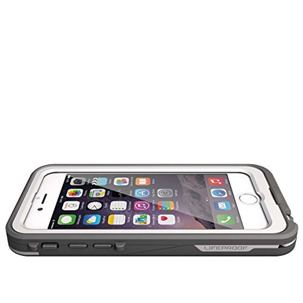LifeProof FRE POWER iPhone 6 ONLY (4.7'' Version) Waterproof Battery Case - Retail Packaging - (BRIGHT WHITE/COOL GREY) (Discontinued by Manufacturer) (Certified Refurbished)