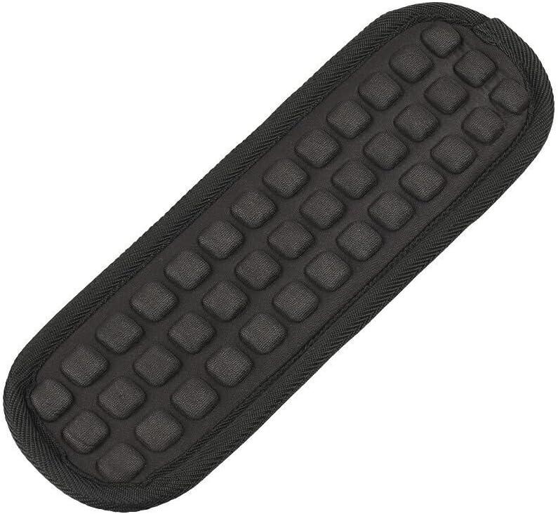 Qishare Shoulder Pad Air Cushion Laptop Case Bag Messenger Bag Camera Bag Shoulder Strap Nylon Replacement Pad (Black, 1 PC)