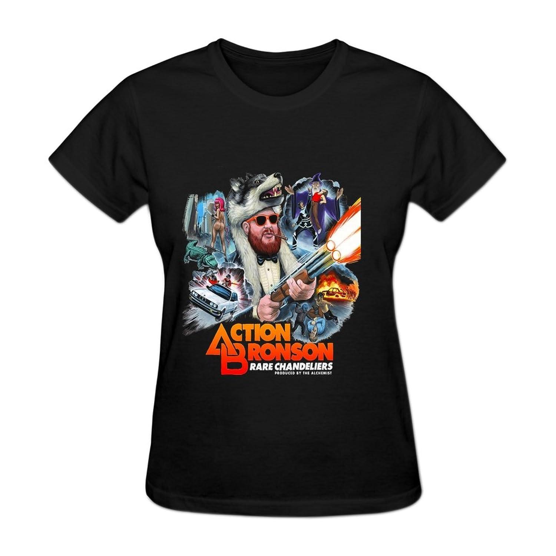 Ningfans Women s Action Bronson Alchemist Rare Chandeliers tshirt