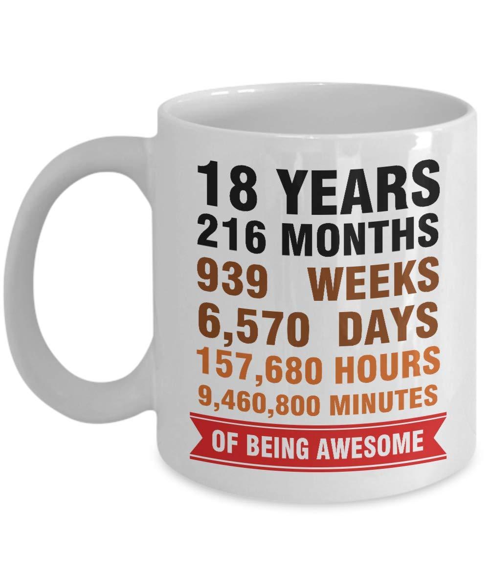 Amazon.com: 18 años de edad, meses, semanas, días, horas ...