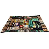 Hankyky 3D Printed Blanket | This is How We Roll Camping Blanket Quilt | Outdoor Down Camping Blanket for Traveling, Picnics, Beach Trips, Concerts