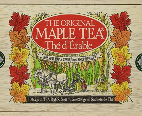 Metropolitan Tea Maple - Box Of 100 Tea Bags (Tea Maple Canada)