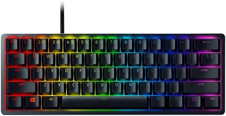 Teclado XuZeLii para PC Gaming Clicky Optical Switch 61 ...