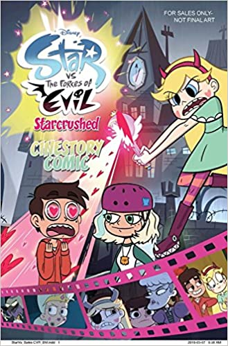 amazon disney star vs the forces of evil starcrushed cinestory