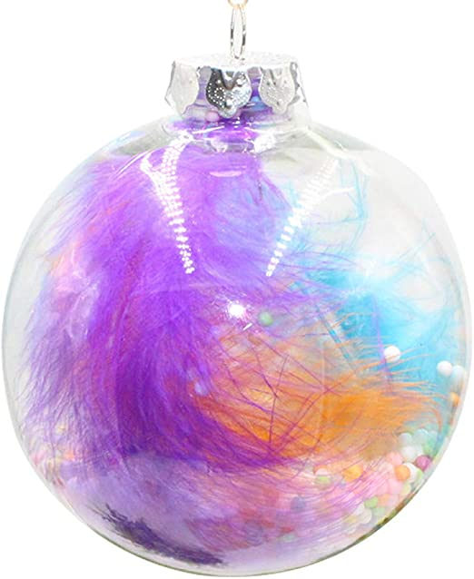 SPARKLE BAUBLES PURPLE Sewing Crafting Quilting Cotton Fab Metallic Christmas