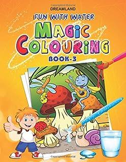 dreamland fun with water magic colouring 3 - A Fun Magic Coloring Book