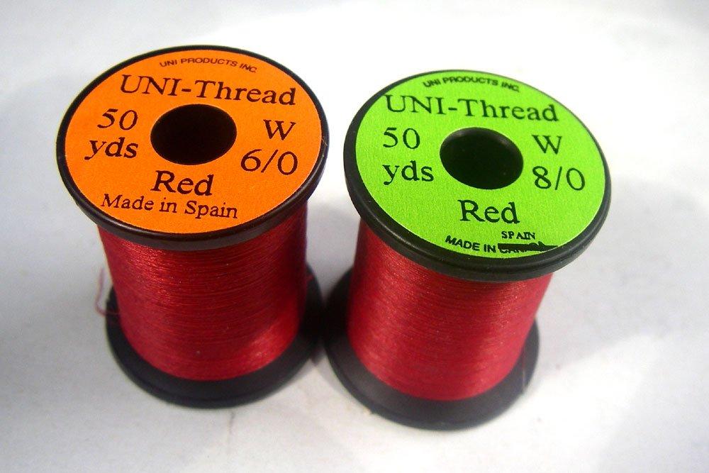 Schwartz - Farben zur Auswahl UNi 1 x Fliegenbinden Bindegarn 200 Yards 182m