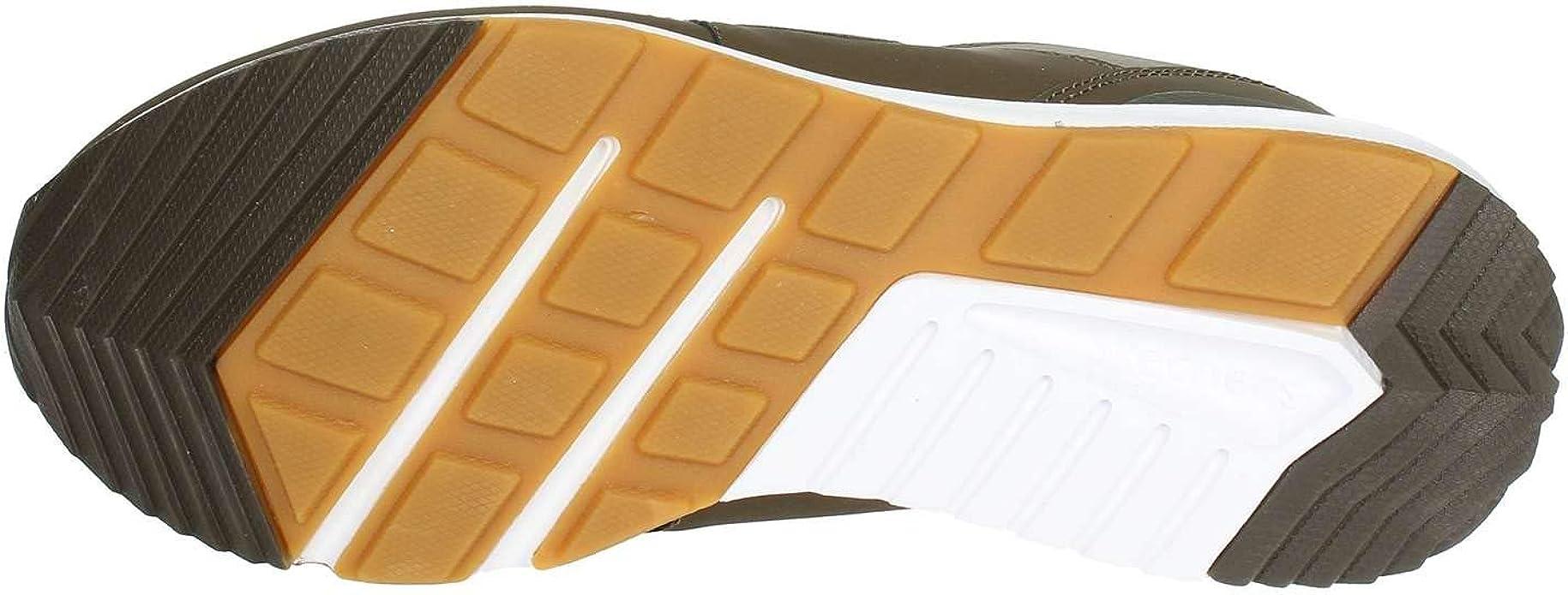 Skechers Scarpe Originals CROPSEY per Uomo in Pelle e Tessuto Verde