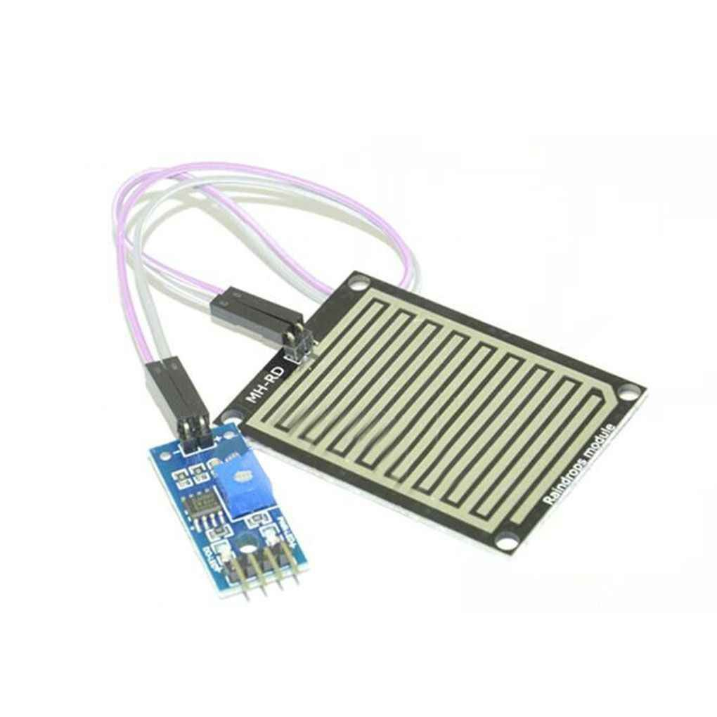 fgyhtyjuu Snow/Raindrops Detection Sensor Module Rain Weather Module Humidity For Arduino