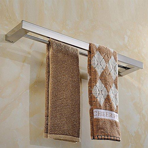 taozun double towel bar 22 inch brushed bathroom sus 304. Black Bedroom Furniture Sets. Home Design Ideas