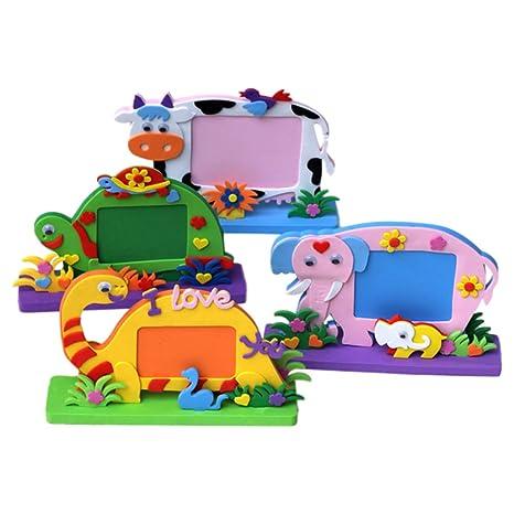 domybest Kids niños DIY 3d EVA espuma juguete Aprendizaje Temprano ...