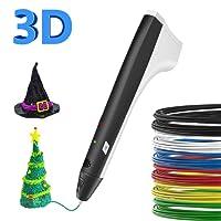 Stylo 3D SUNLU avec écran LCD, Compatible avec PLA/ABS pour l'artisanat et loisirs créatifs - Noir …