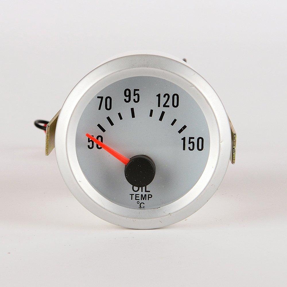 Jili Online 52mm Car Oil Temp Measure Panel Blue LED Temperature Gauge Tester Meter by Jili Online (Image #4)