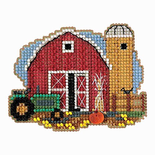 Mill Hill Harvest Barn Beaded Counted Cross Stitch Ornament