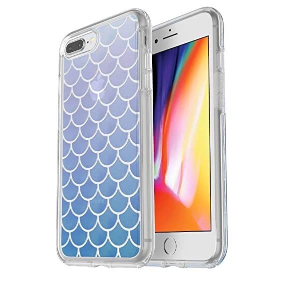 new arrival 65c91 c3422 OtterBox Symmetry Series Clear Graphics Case for iPhone 8 Plus & iPhone 7  Plus (ONLY) Mermaid Tail
