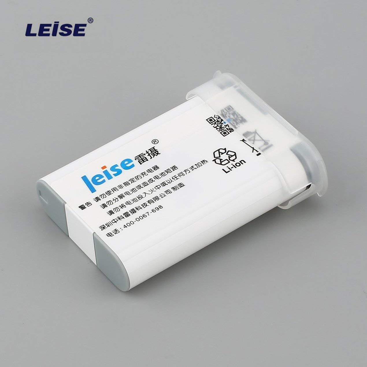 1 Pc LEISE 3.6V 1910mAh batteria ricaricabile Li-ion per fotocamera videocamera batteria di ricambio Canon NB-12L G1X MARK II Digital Dooret