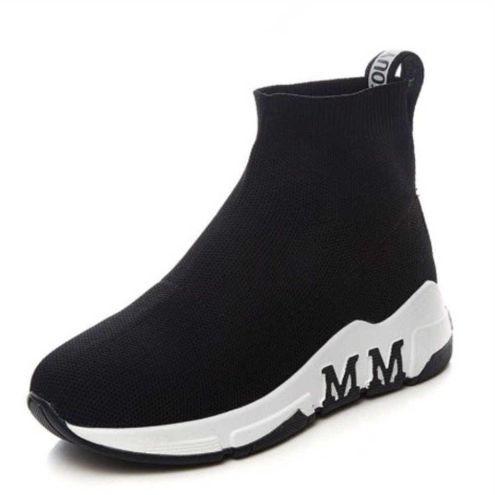 BJSFXDKJYXGS Women's Running Shoes Free Transform Flyknit Fashion Sneakers B07BMCZ7J8 US4-Women//EUR35//22.5CM|Black