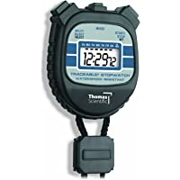 """Thomas 1045 Traceable Water and Shock-Resistant Stopwatch with 1/2"""" High LCD Display, 0.01 Percent Accuracy, 2-3/8…"""