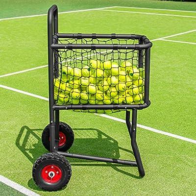 Vermont Carro Portapelotas de Tenis/Pádel/Béisbol – Carrito de ...