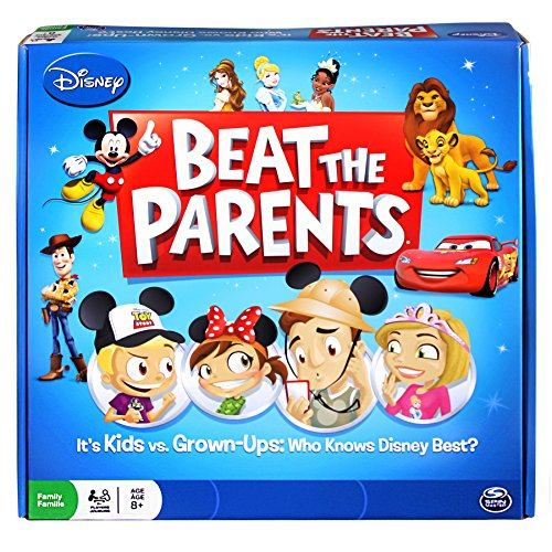 Disney Beat The Parents Board Game - Who Knows Disney - Game The Beat Parents Board