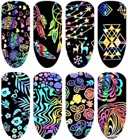 Women Nail Art Nial Sticker Designs Girl Beauty Nail Tools