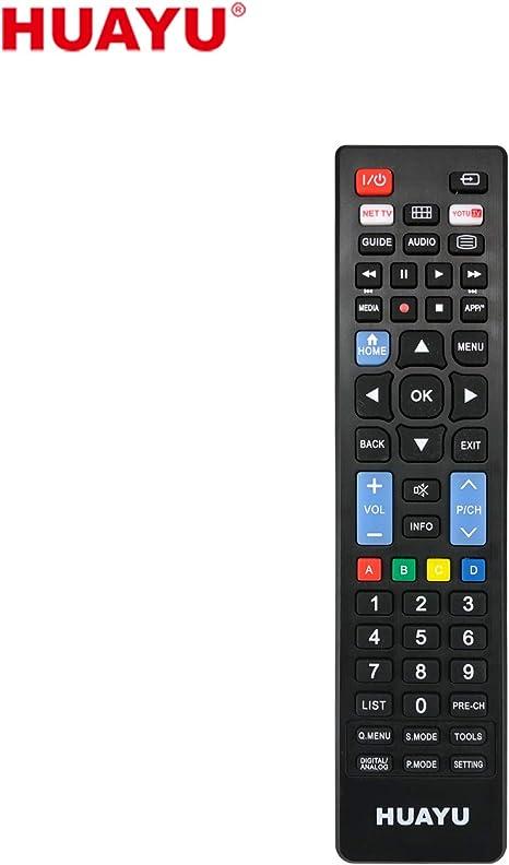 HUAYU URC1511 - Mando a Distancia Universal para Samsung LG-Sony 3 ...