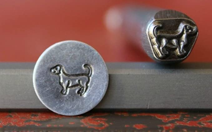 Made in the USA SUPPLY GUY 5mm Dog Bone Metal Punch Design Stamp SGWM-34