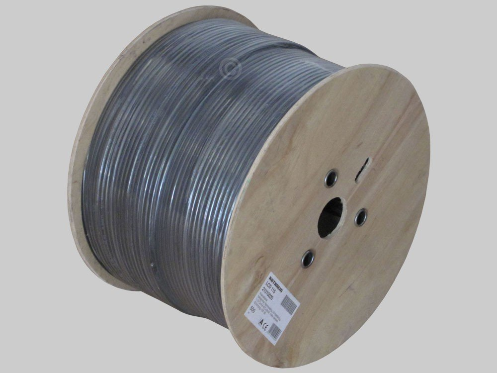Kathrein LCD 115 500m Negro - Cable coaxial (500 m, Negro, 26 kg ...