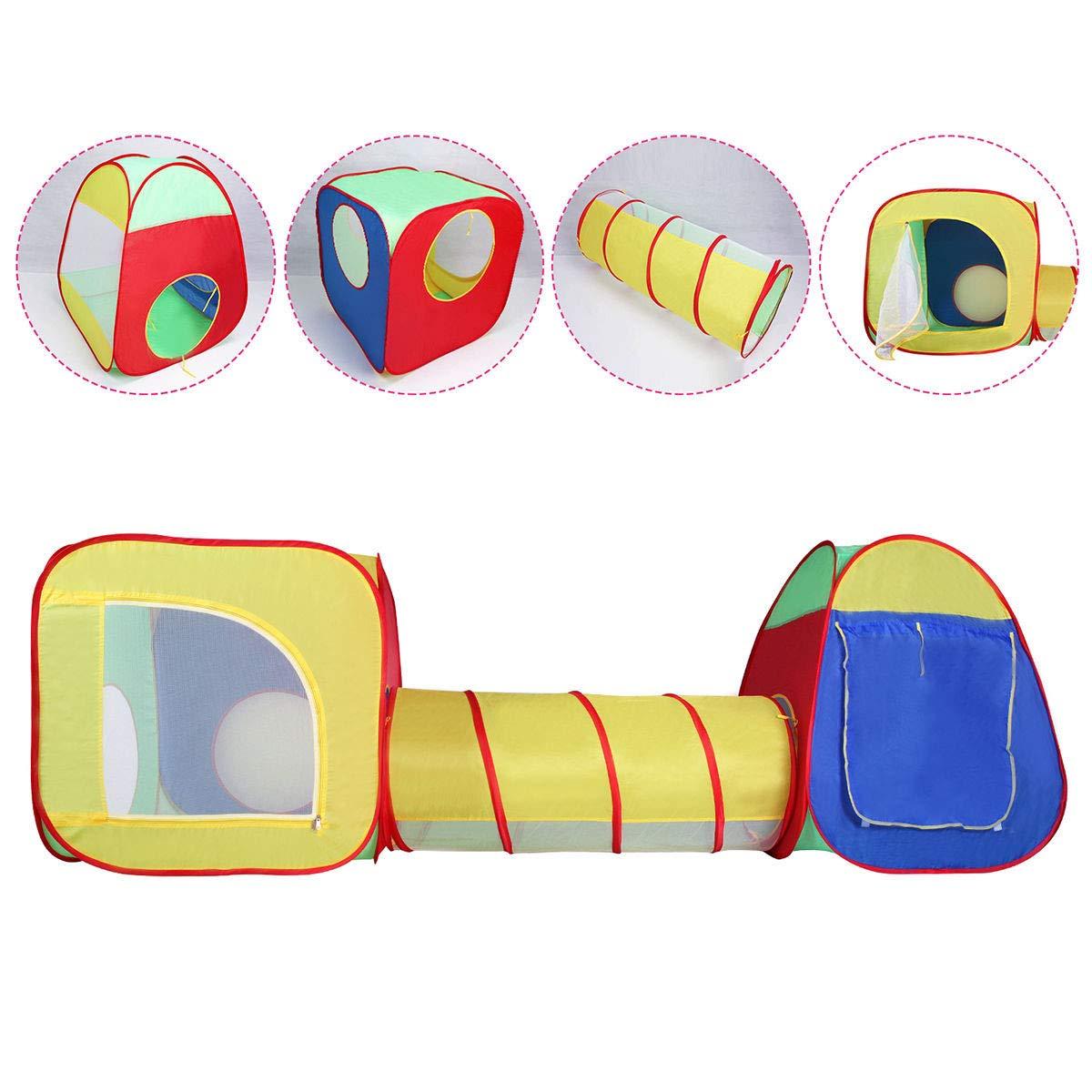 VeenShop 楽しい子供 子供 赤ちゃん遊び テント トンネルハウス アウトドア ポータブル 折りたたみ式 子供 ギフト B07PNDJZ5N