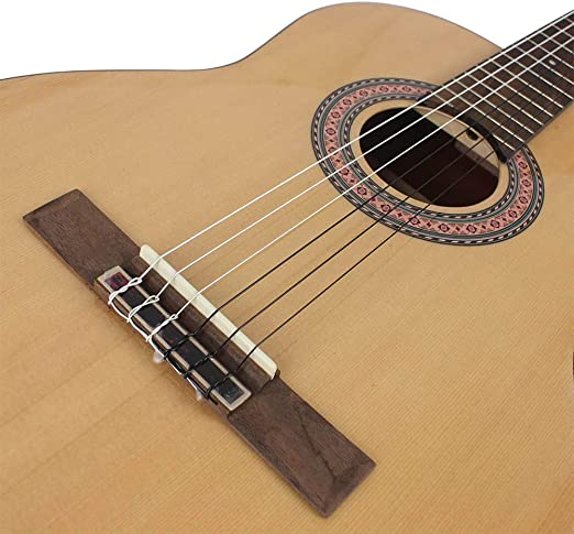 RENNICOCO Cuerdas de Nylon Guitarra Kit para Principiantes Paquete ...