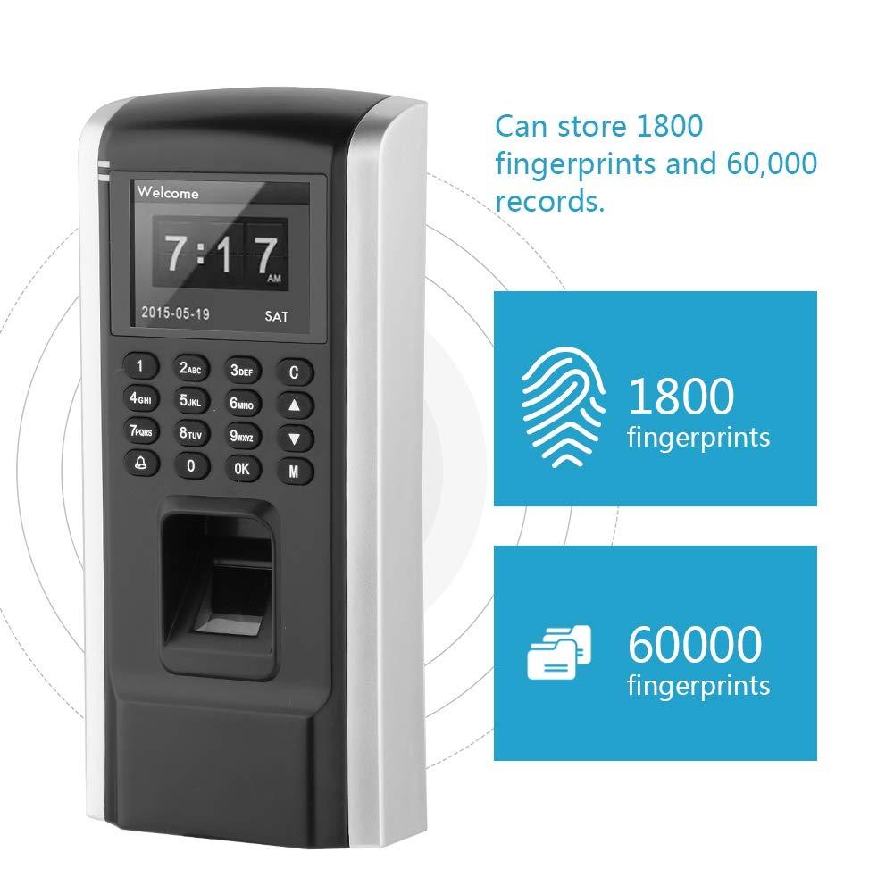Dispositivo de Control Acceso con Huellas Dactilares, Tiempo ...