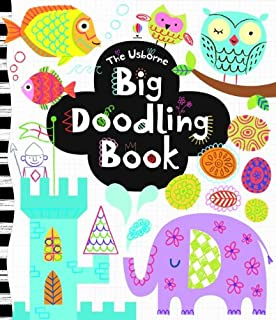 the usborne big doodling book activity books - Children Drawing Books