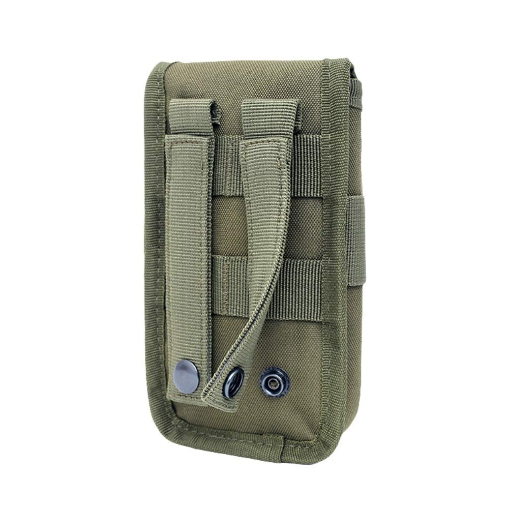 Zdmathe Molle Marsupio edc Nylon Marsupio per Telefono Cellulare Pouch Outdoor Sport Camping