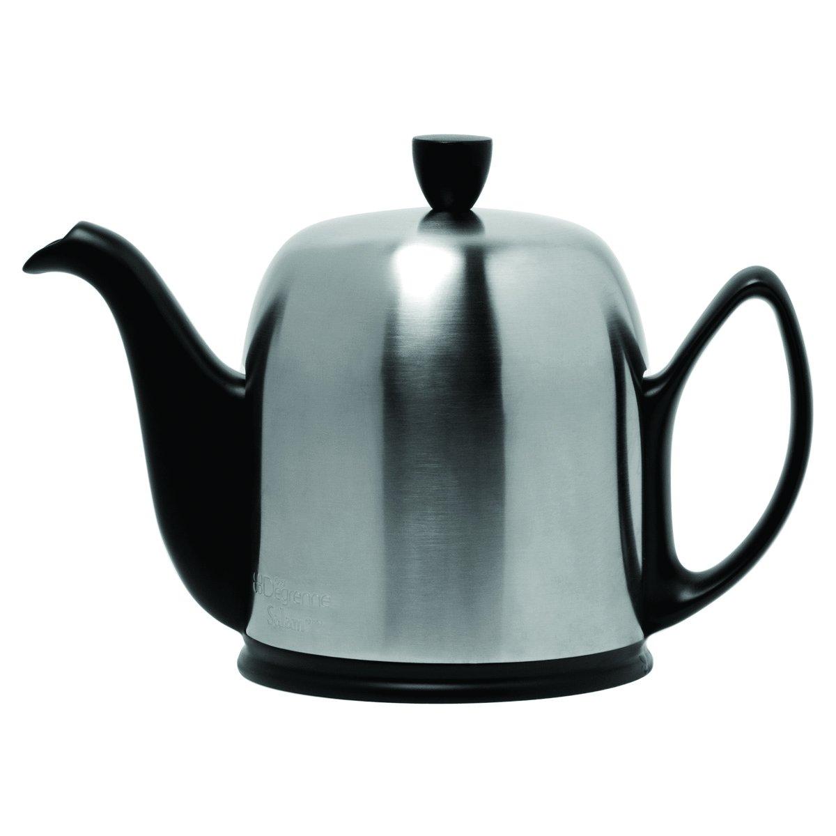 DEGRENNE -  SALAM BLACK Tea Pot 4 Cups, 23 oz 11/16