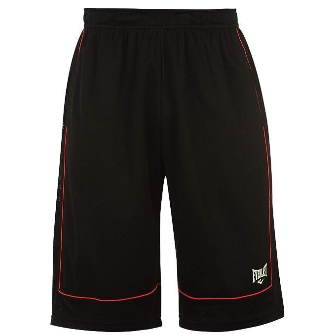 Everlast Pantalón de Baloncesto Cortos Locker Hombre Hombre Deportes Pantalones Ropa Deportiva