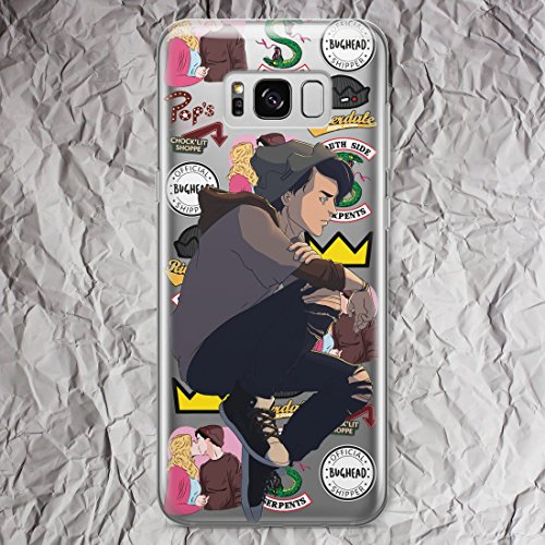 Jughead Jones Phone Case Riverdale Samsung for Galaxy S9 S8 plus S7 S6 Edge Plus Note 8 5 4 S5 cases Southside Serpents Jacket Shirt Pops Chocklit Shoppe gifts print Fandom Silicone Cover