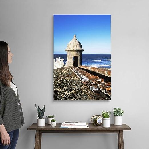 Old San Juan El Morro Wall Art Print Puerto Rico Home Decor Print