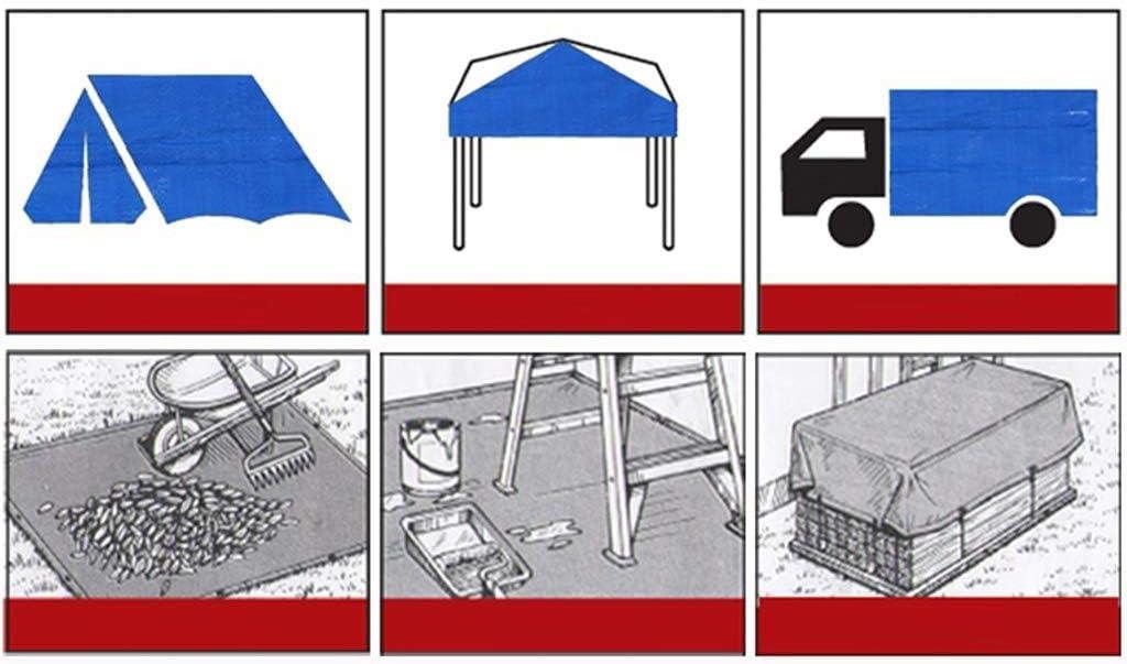 Klare Abdeckplanen 5 Mil Dicke Abdeckplanen Leichtgewicht Transparente Plane f/ür LKWs//Motorr/äder//Innenh/öfe,Transparent/_3x3ft//1x1m ALYR Plane f/ür Camping Abdeckung