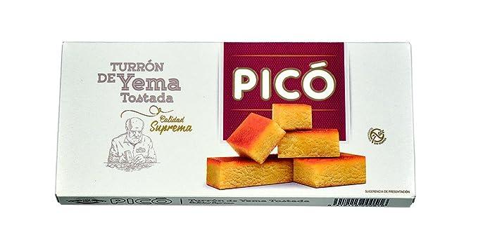 Picó Turrón de Yema Tostada - 300 gr