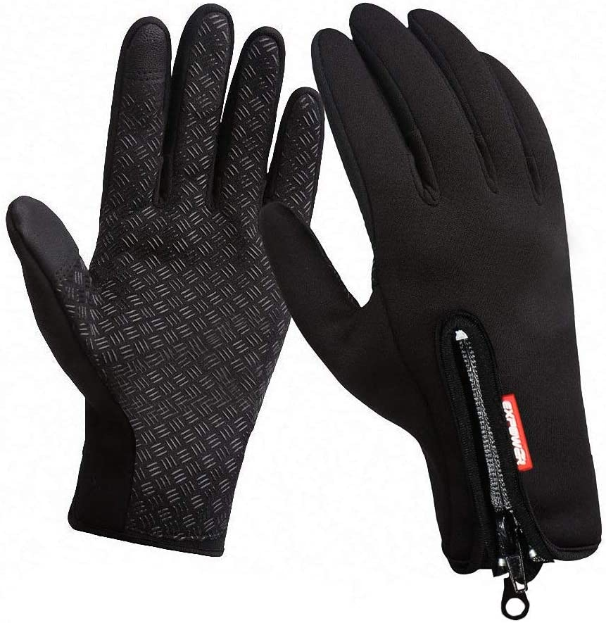 KYNCILOR Touch Screen Gloves Riding Motorcycle Gloves Ski Gloves Bike Cycling Gloves Anti-Cold Gloves Driving Gloves Driving Gloves Work Out Fitness Gloves